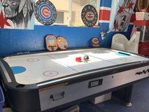 Air hockey table in Westmont, Illinois