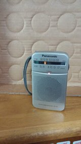 Panasonic FM/AM pocket radio in Okinawa, Japan