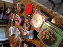 Over 100 CD's.DVD and several VHS in Alamogordo, New Mexico