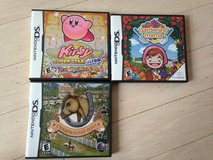 Nintendo DS - Kirby, Gardening Mama and Championship Pony in Plainfield, Illinois