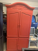 Armoire Red Cabinet in Camp Pendleton, California