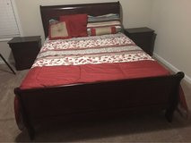 new bedroom set with mattress, dresser and mirror in Camp Lejeune, North Carolina