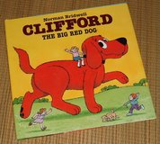 Clifford The Bog Red Dpg Hard Cover book with Dust Jacket Age 4 - 8 in Joliet, Illinois