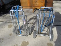 2 Metal Luggage Carts in Yorkville, Illinois