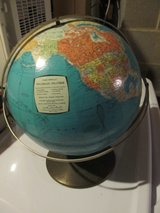 Vintage Rand McNally World Globe (Rotating Double Axis) in Yorkville, Illinois
