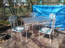 Patio set in Plainfield, Illinois