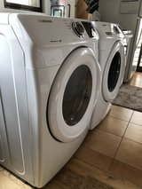 Samsung washer & electric dryer (w/ stack kit) in Okinawa, Japan