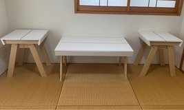 Coffee Table with End Tables in Okinawa, Japan
