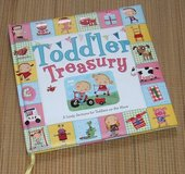 Toddler Treasury 5 Lively Sections for Toddlers on the Move (Toddler Books) Hard Cover Age 2 - 5... in Oswego, Illinois