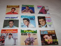 Elvis Presley collectors series limited edition 45s in Fort Leonard Wood, Missouri