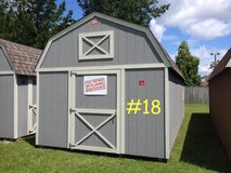 12x24 Lofted Barn Shed Storage Building DISCOUNTED!!! in Moody AFB, Georgia