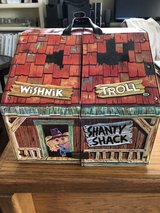 1960's Wishnik Trolll Shanty Shack Vinyl Carry Case by Ideal Toy Company in Glendale Heights, Illinois