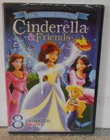 NEW Royal Princess Collection Cinderella & Friends DVD 8 Animated Tales in Chicago, Illinois