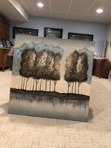 Dimensional Tree Painting on Wood in Tinley Park, Illinois