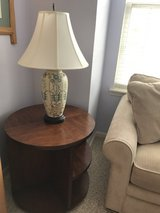 Table and lamp in Plainfield, Illinois