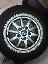 Set of 4 summer tires and wheels 205/60 R15 good condition in Stuttgart, GE