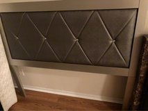 Silver full sized bed in Fairfax, Virginia