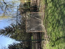 Lacrosse backstop and goal in Elgin, Illinois