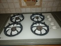 GE gas stove top in Chicago, Illinois