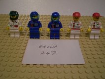 5 Lego Racers Minifigs Group 267 in Aurora, Illinois