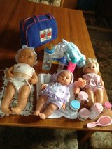 3 used dolls and more REDUCED in Ramstein, Germany