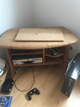 TV stand with lazy Susan in Ramstein, Germany