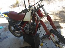 1985yz250 and 1994yz125 in 29 Palms, California