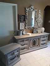 Large Dresser and Night Stand in Baytown, Texas
