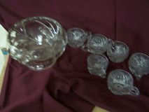 Punch Bowl with Cups in Alamogordo, New Mexico
