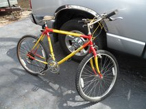 "Lee Chi 26"" 10 Speed Red & Yellow Mountain Bicycle. in Naperville, Illinois"