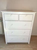 White Dresser / Chest of Drawers in Ramstein, Germany