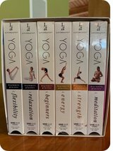 Yoga VHS Set by Living Arts in Joliet, Illinois
