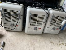 3 space heaters and 3 fans in Houston, Texas