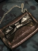 Metallic leather hand bag by Nanette Lepore in Houston, Texas