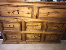 Rustic Solid Pine Dresser in Lackland AFB, Texas