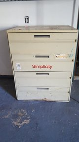 Heavy Duty Metal 4 Drawer Filing Cabinet in Alamogordo, New Mexico