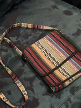 light weight cross body made of Nepalese cloth in Conroe, Texas