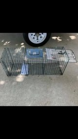 Animal trap in Byron, Georgia