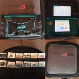 Nintendo 3DS w/games and case in Ramstein, Germany