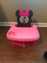 Disney Minnie Mouse Booster Seat in Perry, Georgia