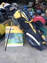 youth junior  golf clubs & chipping net/ Whiffle balls in Oswego, Illinois