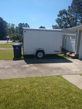 6X10 enclosed trailer in Camp Lejeune, North Carolina