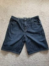 Men's Black Denim Shorts in Camp Lejeune, North Carolina