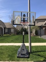 FREE- Portable basketball hoop for scrap in Oswego, Illinois