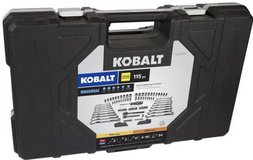 Kobalt Universal 115-pc SAE & Metric Matte Mechanic's Tool Set - BRAND NEW in Fort Polk, Louisiana