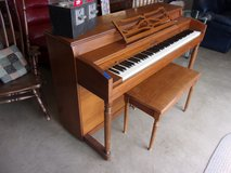 Henry F Miller Piano With Bench in Fort Riley, Kansas