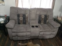 Loveseat and Recliner couch in Fort Leonard Wood, Missouri