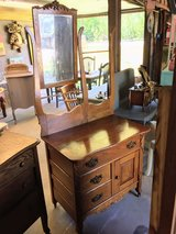 antique oak chest in Camp Lejeune, North Carolina