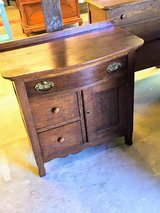 antique oak bow front chest in Camp Lejeune, North Carolina