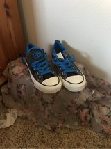 Converse Brown and Blue in Camp Pendleton, California